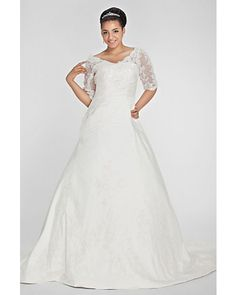 Used Plus Size Wedding Gowns
