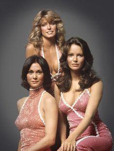 Jaclyn Smith, Farrah Fawcett-Majors, and Kate Jackson, 1976