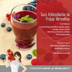 Antioxidante de Frutas Vermelhas