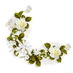 "Photo from album ""Цветочные уголки"" on Yandex. My Flower, Flowers, Mom Day, Sympathy Cards, Views Album, Yandex, Painted Rocks, Floral Wreath, Clip Art"