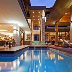 Immaculate SGNW Residence by Metropole Architects in South Africa.