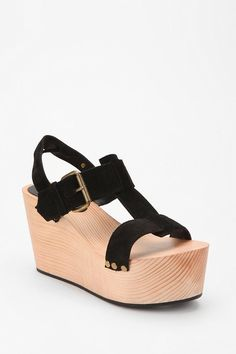 UrbanOutfitters.com > Ecote T-Strap Wedge
