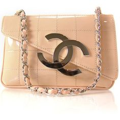 CHANEL Patent Cube CC Small Flap