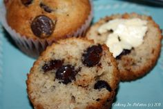 Faux-Mex Chocolate Banana Muffins  http://cookinginstilettos.com/faux-mex-chocolate-banana-muffins/  #Chocolate #Muffins #Banana