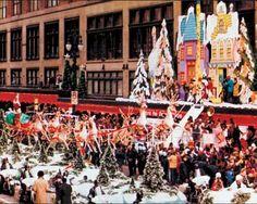 J.L. Hudsons Christmas Parade C. 1950....