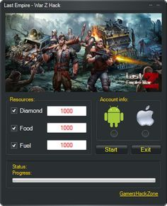 Last Empire War Z Hack (Android/iOS)