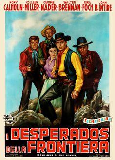 Four Guns to the Border (1954)