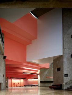 Barbican Centre. This cultural Hub in the city is home to world class cinema, theatre and music. Essential.
