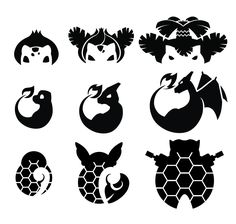 An exercise in icon making. I think I have started something terrible.  Let's take votes and guess on how many pokemon I will get to before I give up.