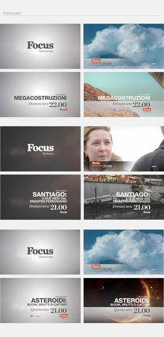 FOCUS /// Channel Rebrand by Alkanoids , via Behance