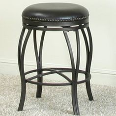 Fantastic Hillsdale Montello 26 In Backless Swivel Counter Stool Evergreenethics Interior Chair Design Evergreenethicsorg