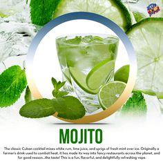Fun, flavorful, and delightfully refreshing vape #tastyvapor #mojito #ejuice #eliquid #vape