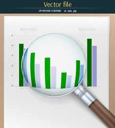 Magnifier with Financial Charts
