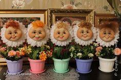 Куклы День рождения Шитьё ромашечки и рамочки Капрон Мех фото 1