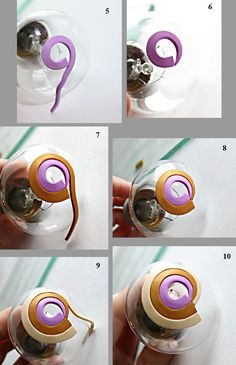 master class of polymer clay bead