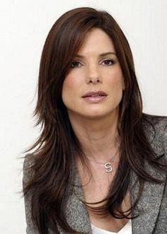 Sandra Bullock. Hair