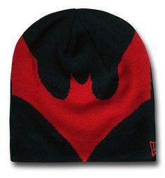 reputable site ee5e0 2f3ff Batman Beyond Symbol Reversible Beanie