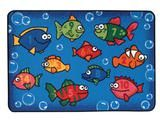 """Checkout the """"Something Fishy Numbers KID$ Value Discount Classroom Rug, 4' x 6' Rectangle"""" product"""