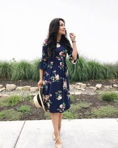 The Darling Style Store Modest Dresses, Fall Dresses. Moda Modesta, apostolic fashion, Pentecostal F Apostolic Fashion, Mode Apostolic, Modest Fashion, Women's Fashion Dresses, Feminine Fashion, Apostolic Style, Classy Fashion, Feminine Style, Fashion Clothes