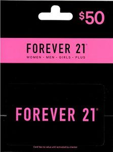 Cool Gifts For Teenage Girls Forever 21 Gift Card