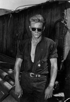 James Dean as Jett Rink in 'Giant', 1955