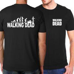 The Walking Dead Hip Hop T Shirts Men 2017 Summer 100% Cotton T-Shirts For Men Fashion Casual Men Tops Tees Camisetas Hombre