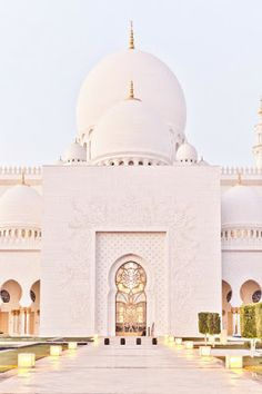 The Grand Mosque, Abu Dhabi - Explore the World with Travel Nerd Nici, one… Places Around The World, Oh The Places You'll Go, Places To Travel, Travel Destinations, Around The Worlds, Travel Europe, Greece Travel, Travel Packing, Usa Travel