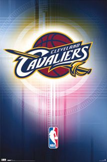 Cleveland Cavaliers Official NBA Logo Poster - Costacos Sports