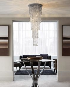 Who wouldn't want to come home to this? Give your home a statement to boast about - shop our stunning chandeliers through the link in our bio. #symmetry #chandelier #statement #table #home #homeinterior #interior #homedecor #decor Product code: 444748