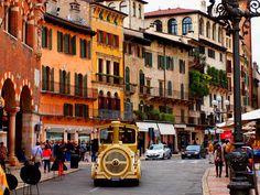 Verona Erbe Square, Italy. I love Verona! One I my favourite places, must go back soon!