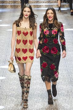 Défilé Dolce & Gabbana Automne-hiver 2017-2018 Prêt-à-porter -...