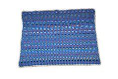 Manta de ganchillo para niños con restos de lana   costurea.es/blog/