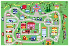 Fun City Fun Time Kids Rug $49.99