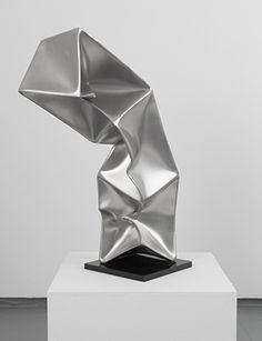 Ewerdt Hilgemann - Triple (model), 2014 Stainless Steel - 37.8 x 8 x 8 inches (96 x 20.3 x 20.3 cm)