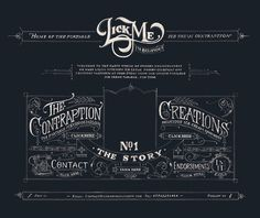 #web #design - really enjoying the typography work on this