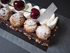 Gâteau chocolat & cerise Burlat de la Fête des Pères, par Nicolas Bernardé