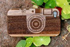 Wood camera phone case!