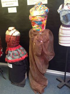 What did you make for your GCSE textiles coursework?