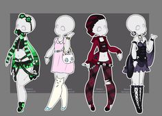 Batch 8! LovelyLoren JKDreamer IdoodleChibis IdoodleChibis For a limited time Gacha outfits are still open! Wooh! Base created by MeowImaCow