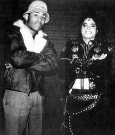 <3 Michael Jackson <3 & LL Cool J - love how Michael is trying to act 'gangsta' here lol