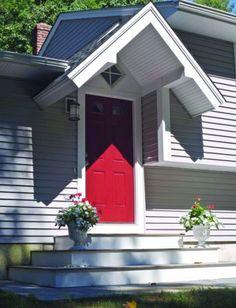 back door steps  cobertura de porta