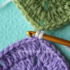Flat Slip Stitch is 1one of the methods to join up the granny squares. It gives a flat yet clearly defined lines that framed up the squares. - Page 2 of 2