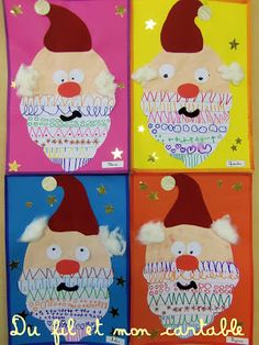 : This year, I take over the album Le petit Père Noël by Anu Stohner and Hen . - - : This year, I take over the album Le petit Père Noël by Anu Stohner and Hen . Christmas Themes, Kids Christmas, Christmas Crafts, Winter Crafts For Kids, Diy For Kids, Theme Noel, Winter Art, Reno, Christmas Activities