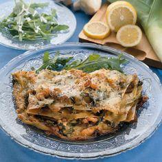 Rucola-Lachs-Lasagne