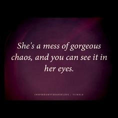 The creative way to describe someone as being a hot mess....I love it!