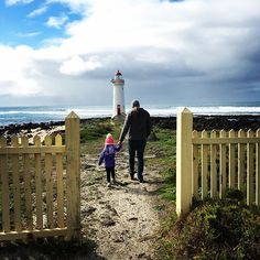 Parting shot from Aussie: Looking for wallabies (which we never found) on Griffiths Island in Port Fairy... but at least we found the lighthouse. Home again in Auckland now! #lighthouse #portfairy #griffithsisland #victoria #australia #nowallabies by sommerkapitan http://ift.tt/1UokfWI