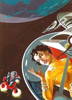 Emshwiller for Infinity Science Fiction, October 1957