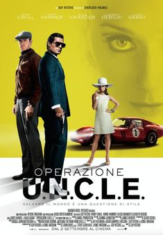 Henry Cavill and Armie Hammer come together for the upcoming Guy Ritchie directed film The Man from U. Cavill plays CIA agent Napoleon Solo and Hammer… Man From Uncle Movie, The Man From Uncle, Sherlock Holmes, Guy Ritchie, Streaming Hd, Streaming Movies, Henry Cavill, Tv Series Online, Movies Online