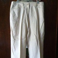 Chico's linen pants Chico's linen pants. Size 2 Chico's Pants