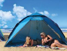 Shelta 2 8m X 1 5m Super Uv Protector Upf50 Pop Up Beach Shelter Shade Tent